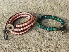 DIY: Beaded Wrap Bracelet - YouTube