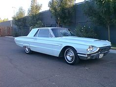 1965 Ford Thunderbird - my dad's dream car, in robin's egg blue - he never did get one