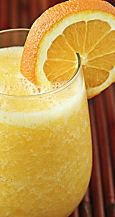 "Fresh Orange Smoothie (""Orange Julius"") 