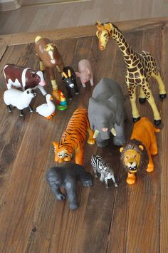 Zoo or farm animal by SortingSprinkles, via Flickr