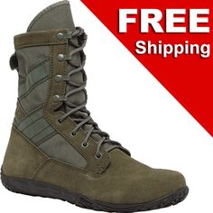 Tactical Research TR Minimil Lightweight Tactical Military Boots