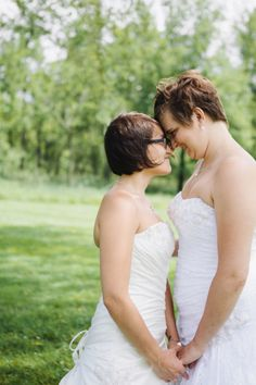 Jessica and Courtney's Rainbow-Themed Hudson Valley Wedding