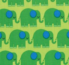 Bungle Jungle by Tim and Beck for Moda elephants in by hbfabrics, $8.75