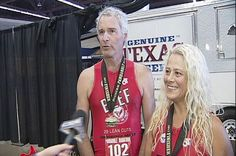 Marathon Couple runs on the power of beef - KCBD NewsChannel 11 Lubbock — Where do you get protein to fuel your body?
