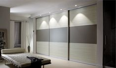 Premium white glass sliding wardrobe doors Available from our store