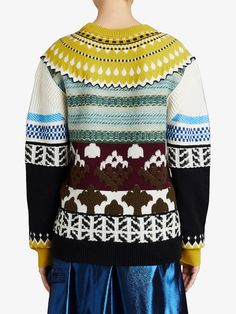 Burberry Fair Isle sweater