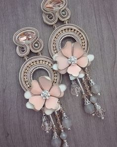 haiku e mini Haiku Funky Jewelry, Metal Jewelry, Boho Jewelry, Jewelery, Fashion Jewelry, Soutache Jewelry, Beaded Jewelry, Beaded Rings, Beaded Bracelets