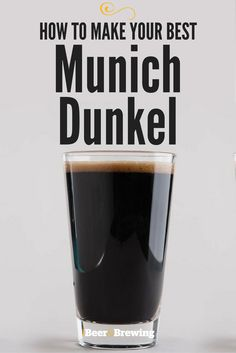 Your Best Munich Dunkel Who wouldn't want a beer that tastes like fresh bread dipped in molten toffee with a dry finish?Who wouldn't want a beer that tastes like fresh bread dipped in molten toffee with a dry finish? Brewing Recipes, Homebrew Recipes, Beer Recipes, Coffee Recipes, Home Brewery, Home Brewing Beer, Ginger Ale, Brew Your Own Beer, I Like Beer
