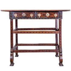 17th Century Indo-Portuguese Table