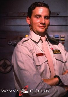 Second technician Arnold J. Rimmer of Jupiter Mining Corp. ship, Red Dwarf (played by Chris Barrie)