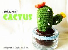 Free pattern : DIY Little Cactus.