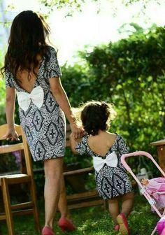Little dress mama e hija