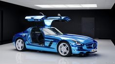 Mercedes-Benz SLS AMG | Mercedes-Benz SLS AMG Electric Drive – The World's First AND ONLY ...