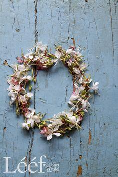 Lééf Magazine Photographer: Hanneri De Wet Afrikaans, Grapevine Wreath, Pink Roses, Hue, Floral Wreath, Gallery Wall, Bloom, Wreaths, Flowers