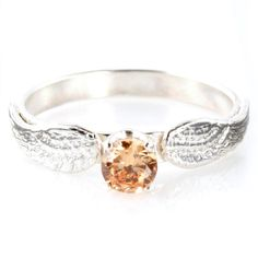Golden Snitch Engagement Ring - Spiffing