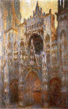 Rouen Cathedral, 1894 ~ Claude Monet