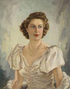 HM Queen Elizabeth II (b.1926) by Beatrice M. Johnson