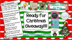 Rockin Resources: $130 Christmas Giveaway PLUS Free Incredible Resources!!!!!!!