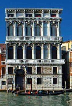 Palacio Flangini. Venecia. Italia