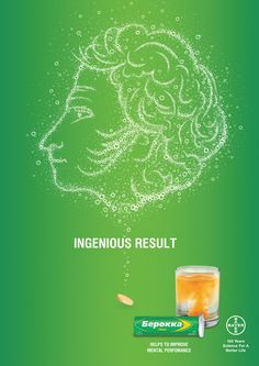 OOH and indoor posters for Berocca vitamins advertising campaign.Main task – to show that Berocca pushes your brain to work on high level and ever higher. Advertising Campaign, Better Life, Mood, Behance, Poster, Ideas, Design, Posters, Design Comics