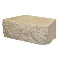 @ Lowes Retaining Wall Block  12-in x 4-in  for $1.58