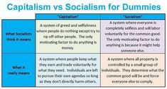 Best Socialism Vs Capitalism Images  Political Quotes  Capitalism Vs Socialism Brilliantly Explained For Dummies  The Federalist  Papers Socialism Vs Capitalism How To Start A Business Essay also Business Essay Format  Www Oppapers Com Essays