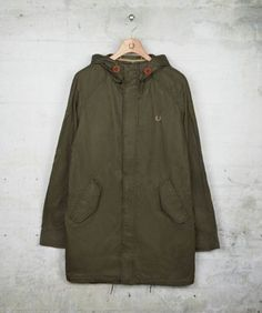 Fred Perry - Coated Cotton Fishtail Parka