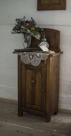 An old stylish commode in peasant's house