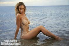 Hannah Ferguson Swimsuit Body Paint - Sports Illustrated Swimsuit 2014 - SI.com