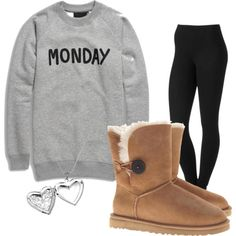 I would wear this every Monday