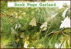 Knick of Time: Christmas Tree Garland & Gift Wrap Embellishment