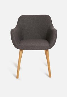 Thea chair - Sixth Floor New Living Room, Home And Living, Home Fix, Buy Chair, Cool Chairs, Home Look, Floor Chair, Dark Grey, Modern Furniture