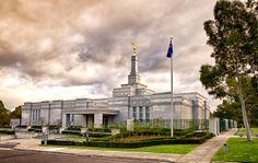 Melbourne Australia Temple. #LdsTemple #MormonTemple