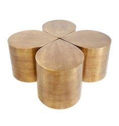 Lucky four treble coffee table