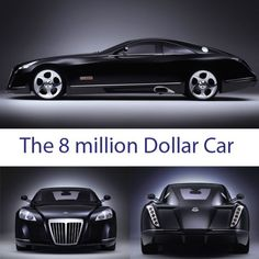 The Maybach Exelero is a high-performance unique sports car. It's the most expensive car with the price of about $8 million. The 700 hp (522 kW) two-seater with a twin turbo V12 engine. - Imgur