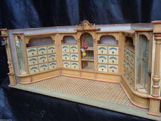 SEHR SELTENES ANTIKES GROßES PUPPENHAUS 1880er GOTTSCHALK KAUFMANNSLADEN in Antiquitäten & Kunst, Antikspielzeug, Puppen & Zubehör | eBay!