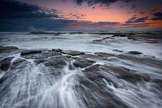 Evening Rush | by Yury Prokopenko on Flickr / Sunset at Turimetta Beach, Sydney NSW Australia.