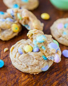soft and chewy m & m's cookies from @Averie Sunshine {Averie Cooks}