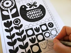 Jane Foster Blog: Back to the drawing board - new screen print ideas - Jane Foster