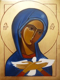 Pneumatofora.gif (1063×1415) Blessed Virgin Mary, Religious Icons, Holy Family, Sacred Art, Mother Mary, Madonna, Painted Rocks, Religion, Spirituality