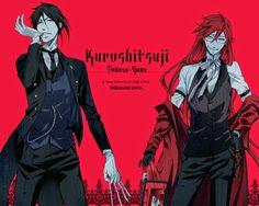 Kurosh!tsuji: R-18 - Grell x Sebastian - Community - Google+
