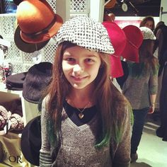 @astartupstore - hats! How cute is she