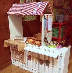 子供部屋/収納/100均/手作り/ままごと/DIY…などのインテリア実例 - 2013-12-21 21:59:59 | RoomClip(ルームクリップ)