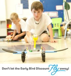 Don't forget, our Early Bird Discount expires this Friday, March 28! Be sure to find a site near you at www.campinvention.org if you haven't already!  Thanks to all who believe in inspiring children, innovation and the importance of 21st century skills.