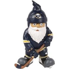 NHL Buffalo Sabres Action Pose Gnome, via https://myamzn.heroku.com/go/B007IB2WIM/NHL-Buffalo-Sabres-Action-Pose-Gnome