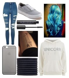 """"""";)"""" by eminemily01 on Polyvore featuring Topshop, Wildfox, Vans, Native Union, New Look and Urban Decay"""