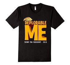 Men's Deplorable Me T-Shirt - Trump For President 2016 3X...