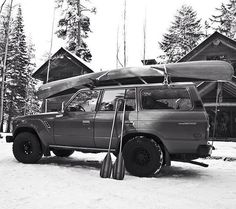 Love this adventure rig all loaded up. Photo by @haiderandco Oh and you should head over and check out the bed rolls they make. So sweet! #ScoutForth folks! by sanborncanoe