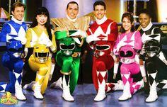 Never underestimate the Original Power Rangers team!
