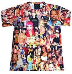 BIG ASS 90'S POPSTARS TEE - PREORDER < SO DOPE! #musthave